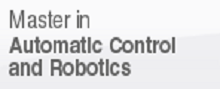 Master  in Automatic Control and Robotics, (open link in a new window)